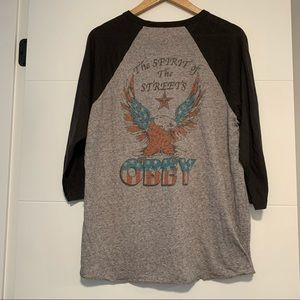 Obey | 3/4 Sleeve Graphic Baseball Tee Shirt